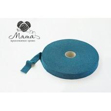 "Knitted yarn ""dark blue melange"""