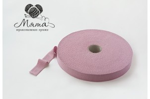 Knitted tape in rollers is