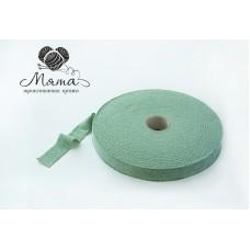 """Knitted yarn """" Mint melange"""""""