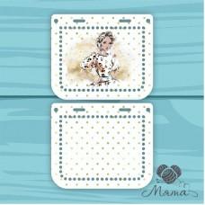 Plastic bag set: 2 sidewalls 20 * 10 cm + plank 23*4 cm BP_20#86