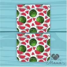 Plastic bag set: 2 sidewalls 20 * 10 cm + plank 23*4 cm BP_20#89