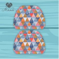 Набор для сумки из пластика: 2 боковины 27*20 см БП_27№60