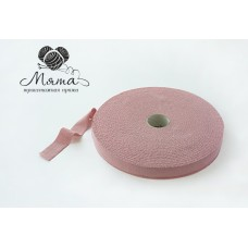 Knitted yarn in rollers Dry rose