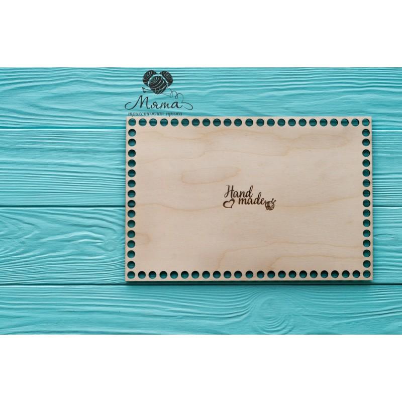 Wooden bottoms for baskets-Rectangle 30cm*20cm