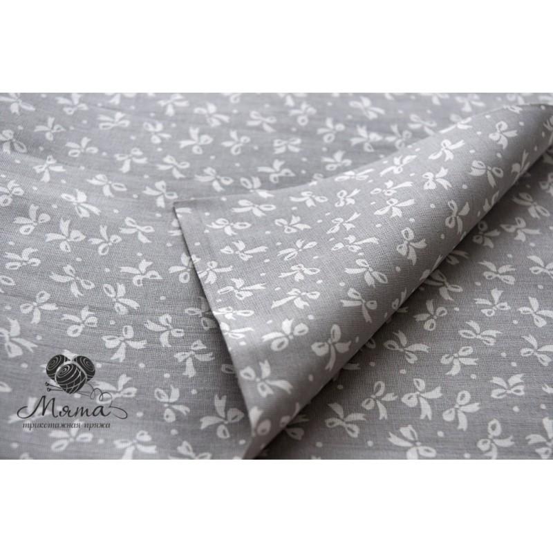 Bow gray  50*50 cm