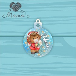 PERSONALIZED new year's toy NG no 128 - 10*7,8 cm