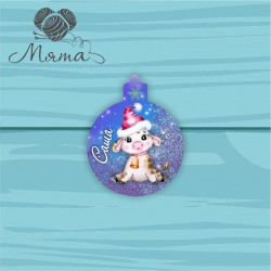 PERSONALIZED new year's toy NG no 130 - 10*7,8 cm