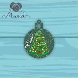 Christmas color toy NG no 131- 10*7,8 cm