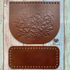 Valve 20 * 17 cm + bottom 20 * 9 cm Steel kakao