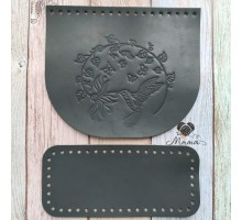Valve 20 * 17 cm + bottom 20 * 9 cm Hummingbird steel