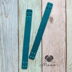 Sewing handles 20*2 cm emerald