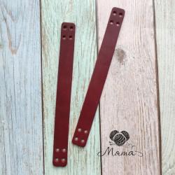 Sewing handles 20*2 cm cherry