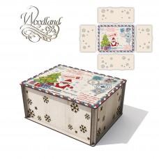 Gift box РЕЗ No. 14 22cm*17cm*10cm