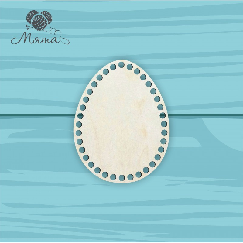 Egg 18cm * 14cm without engraving