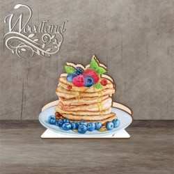Napkin holder 12 cm No. 10 Pancakes with berries