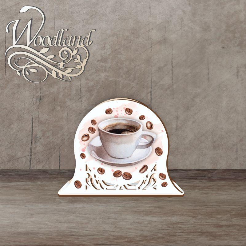 Napkin holder 12 cm No. 4 coffee