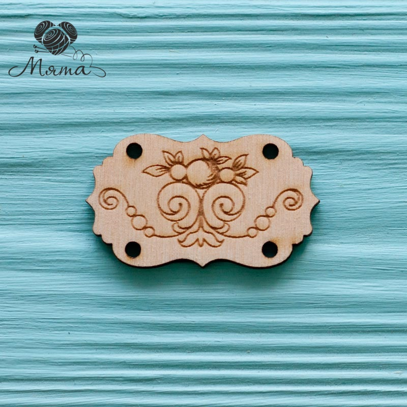 The tag monograms - 5 cm