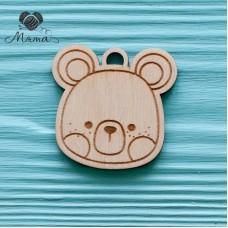 Bear face-5 cm