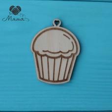 Cupcake - 6 cm