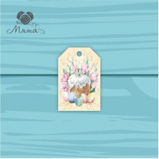 Pendant Rectangle 4 * 6 cm with color print No. 114