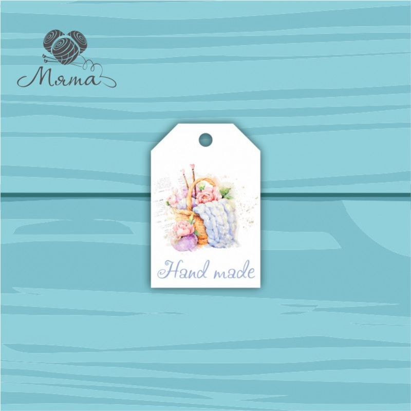 Pendant Rectangle 4 * 6 cm with color print No. 62