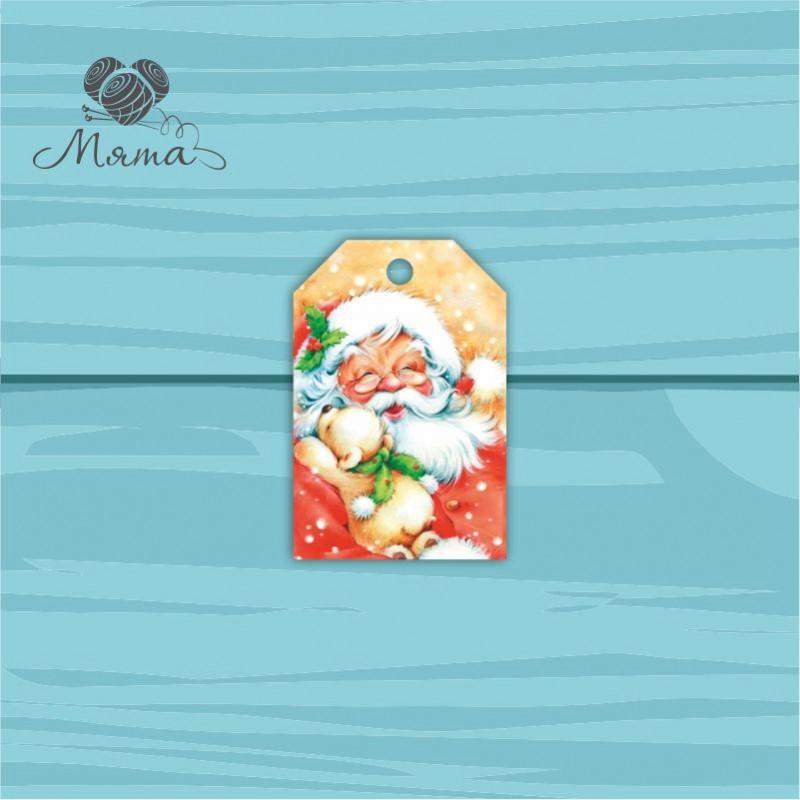 Pendant Rectangle 4 * 6 cm with color print No. 105