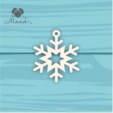 Snowflake №2 - 7 cm
