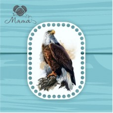 Rectangle with rounded edges d=20*15cm CP20_15 No. 255 eagle