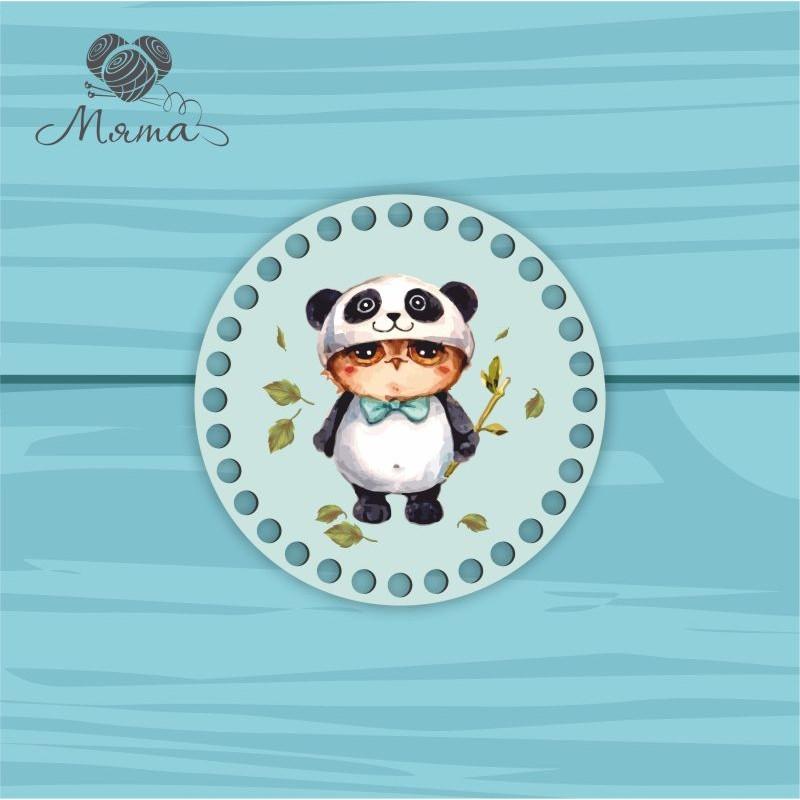 Circle d=15cm CP15 No. 11 Owl Panda