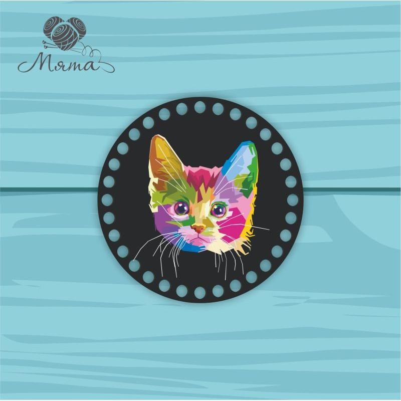 Circle d = 15cm TsP15№16 Kitten