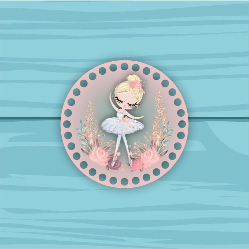 Circle d = 15cm TsP15№63 Ballerina 63 Ballerina blonde