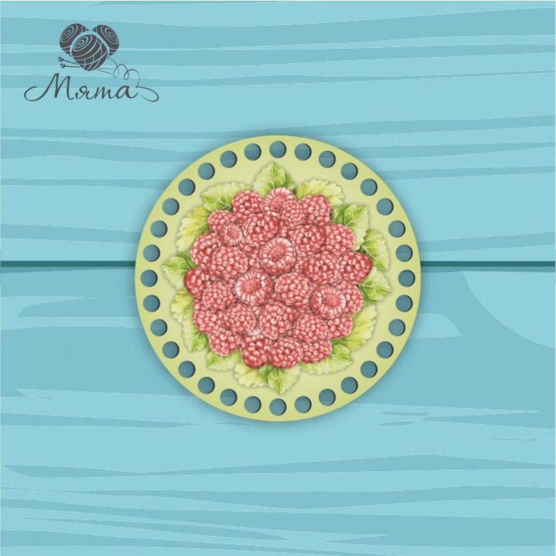 Circle d = 15cm TsP15№75 Malina