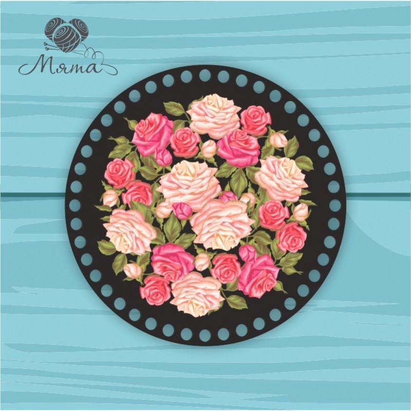 Circle d = 20cm TsP20№4 Flowers