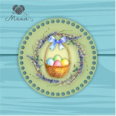 Circle d = 20cm TsP20№57 Basket with eggs
