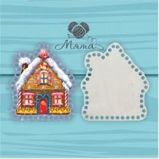 Christmas house 20 cm (Cover+bottom)