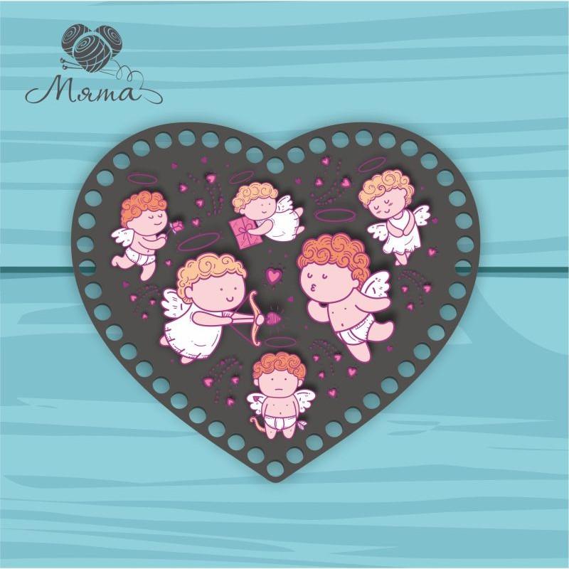 Heart 21cm TsP21№31 Angels