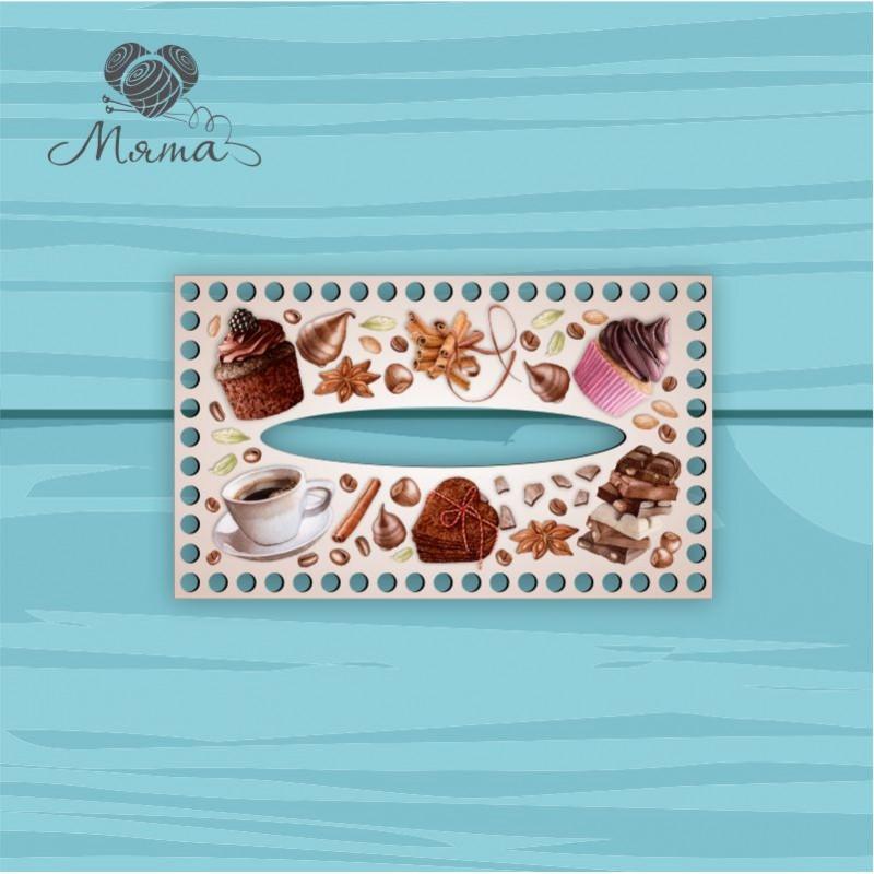 Napkin holder 25*15 cm CP25_15№150 Coffee light