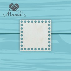 Square 12cm*12cm without engraving