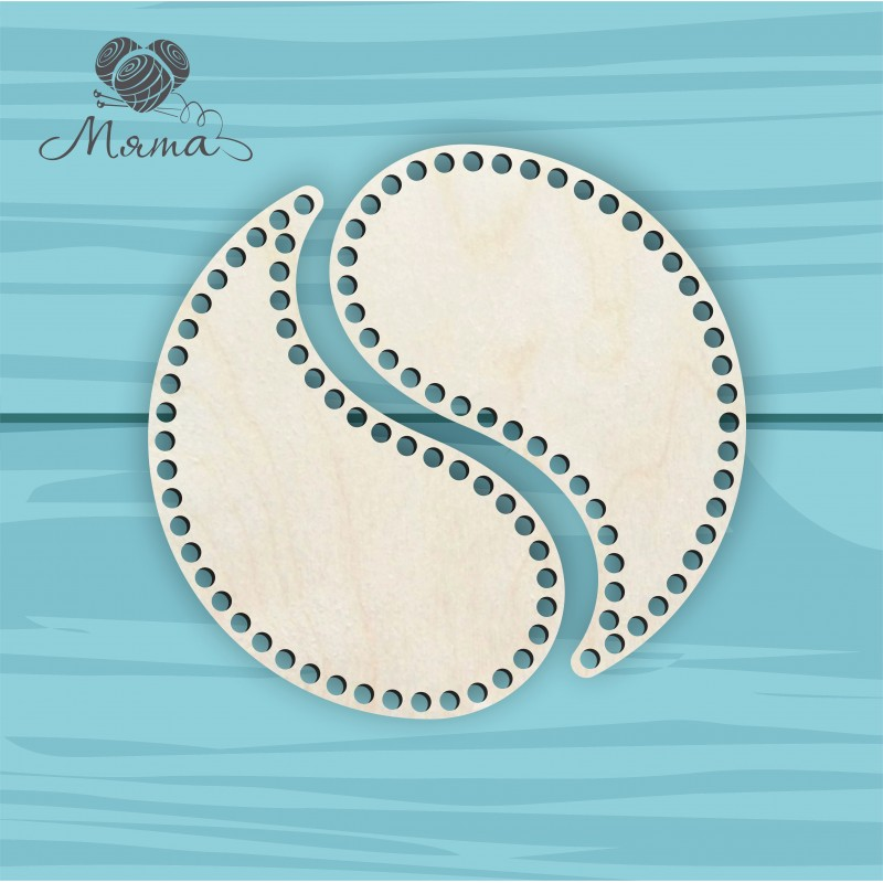 Yin Yang 25 cm without engraving
