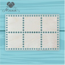 Rectangle 30cm*20cm without engraving 6 sections