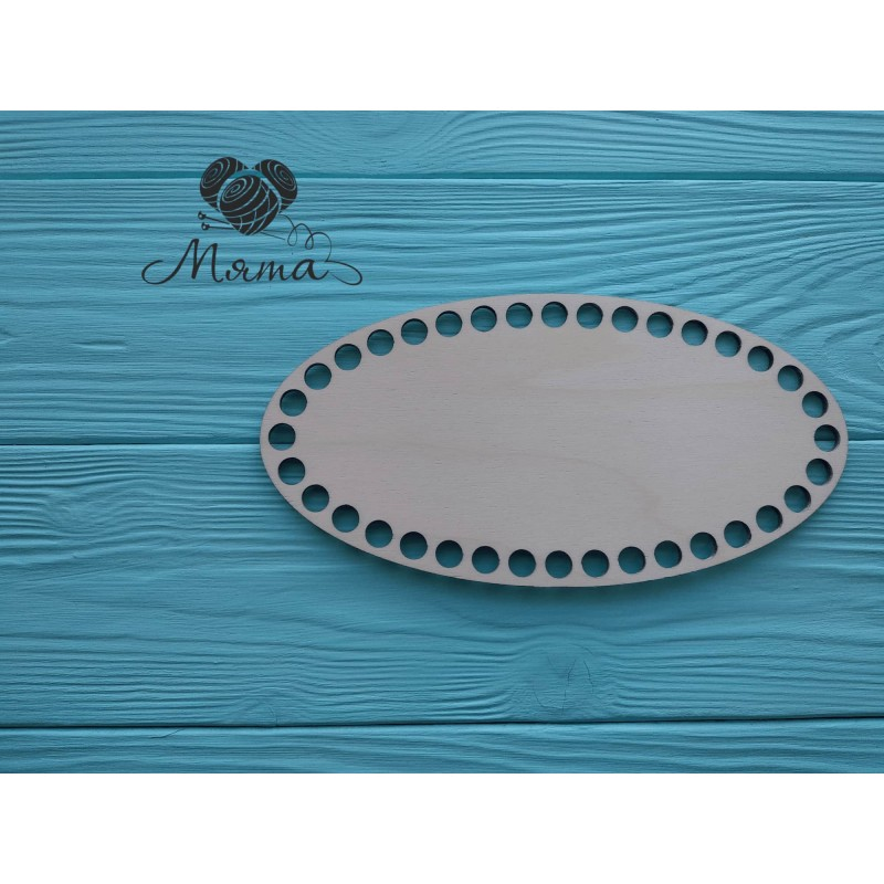 Oval 20cm*10cm without engraving
