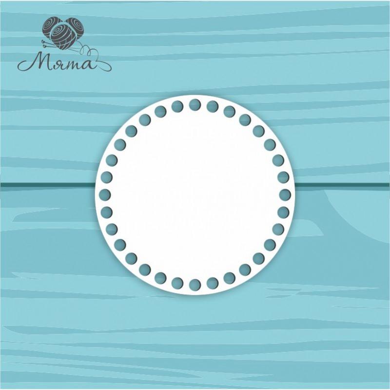 Круг из пластика d=15 см с индивидуальным дизайном