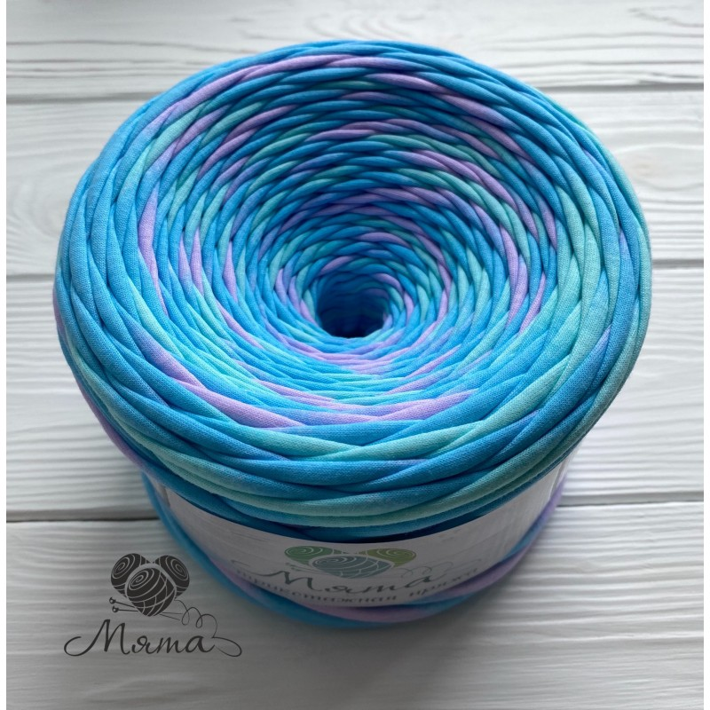 "Knitted yarn "" Radiance"""